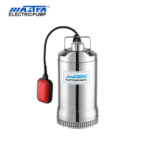 Bomba sumergible para aguas residuales de acero inoxidable MDB550
